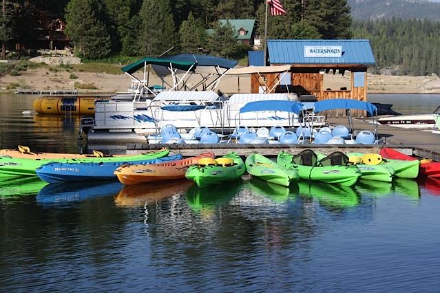 Shaver Lake Watersports Rentals Jet Skis Canoes Malibu Ski